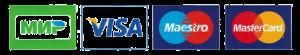 Принимаем к оплате карты visa, mastercard, maestro, мир